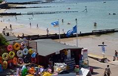 Longbeach affitto case vacanze a Colwell Bay sull'isola di Wight